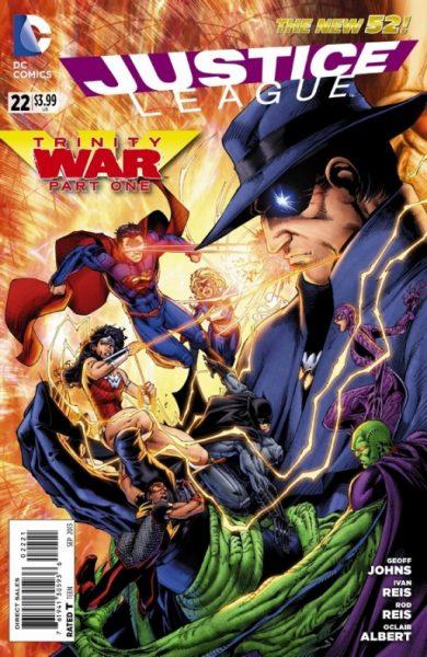 Liga de la Justicia - La guerra de la Trinidad