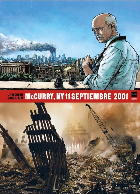 Novela Gráfica McCurry NY 11 Septiembre 2001