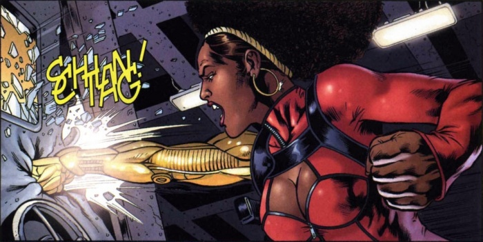 Misty Knight Comic