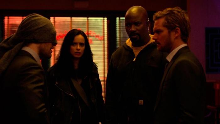 Netflix lanza una tanda de nuevas imágenes de The Defenders 14