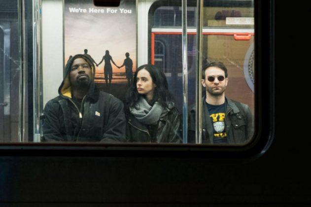 Netflix lanza una tanda de nuevas imágenes de The Defenders 5