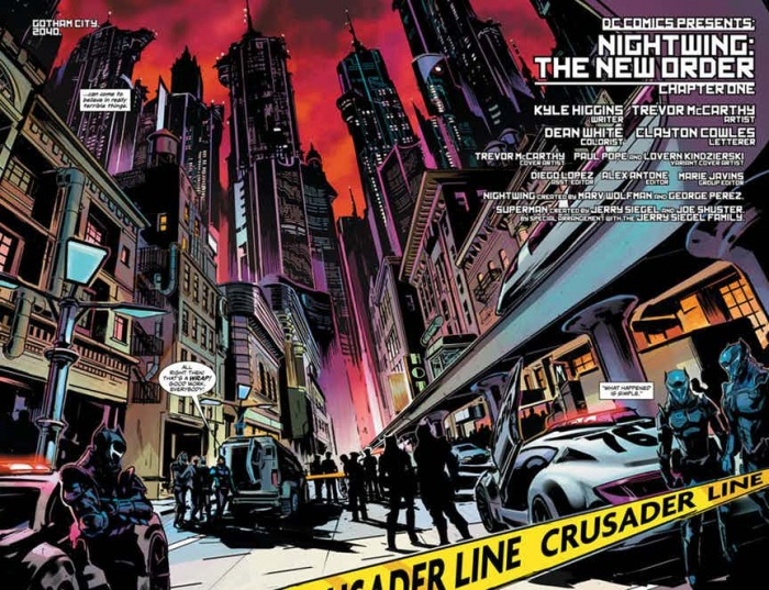 Nightwing The New Order 2
