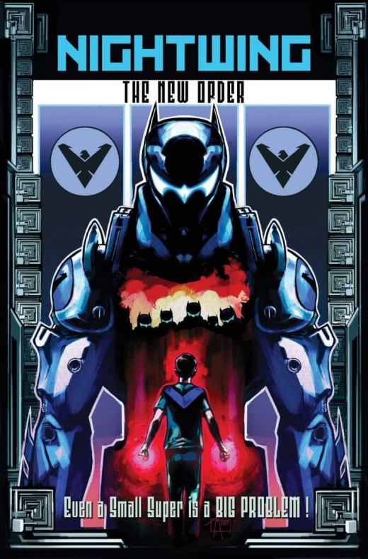 Nightwing The New Order 5