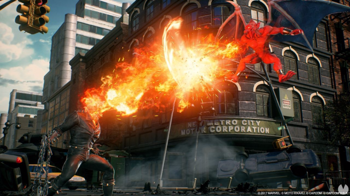 Nuevo gameplay de 'Marvel vs. Capcom. Infinite' presentando a Ghost Rider (3)
