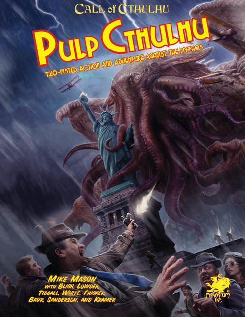 Pulp Cthulhu Cover