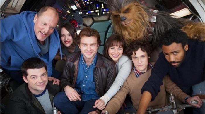 Reparto de Han Solo, una historia de Star Wars