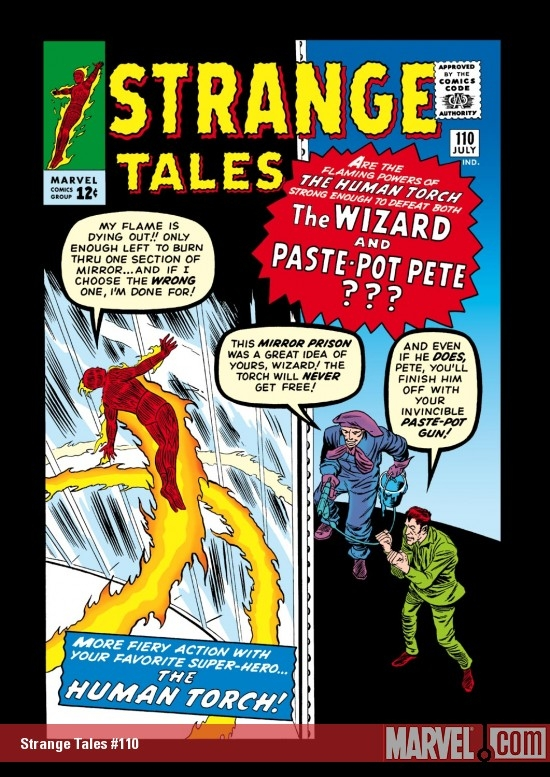 Stragnge Tales 110