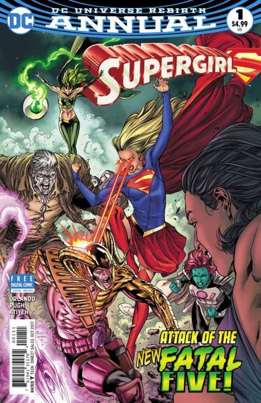 Supergirl Annual 5