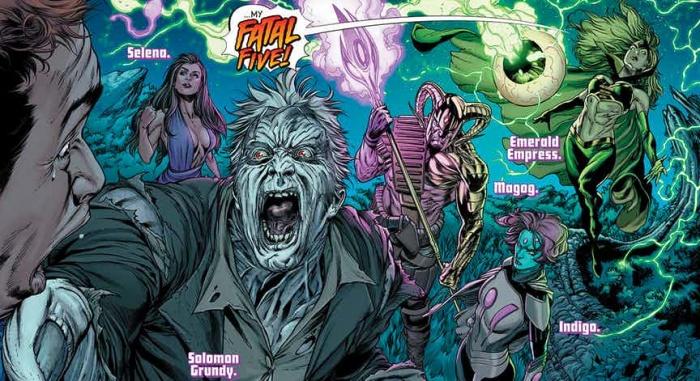 Supergirl Fatal Five