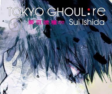 Tokyo Ghoul re 9 portada