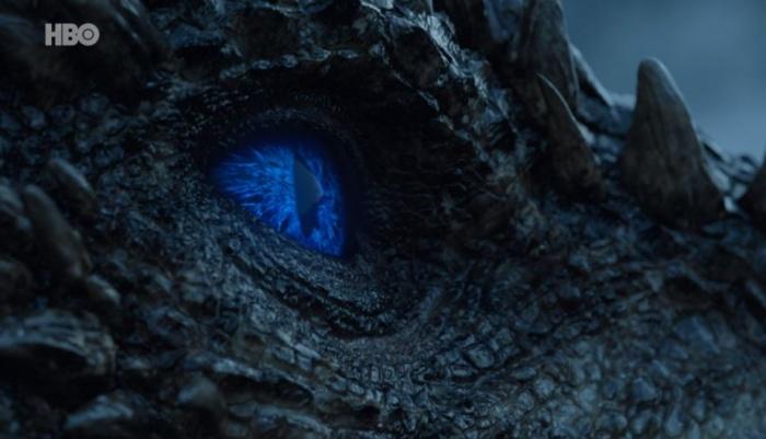 Viserion dragón de hielo