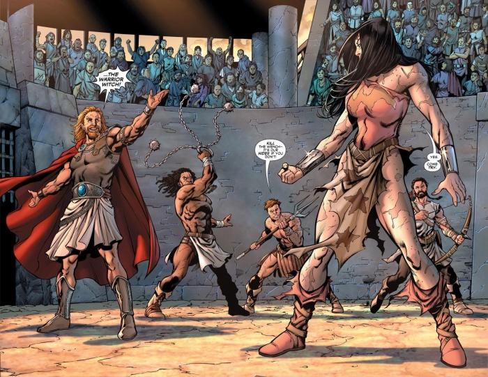 Wonder Woman Conan 7
