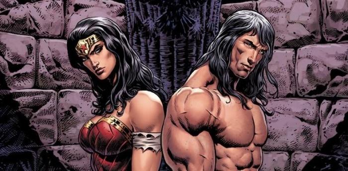 Wonder Woman Conan 9