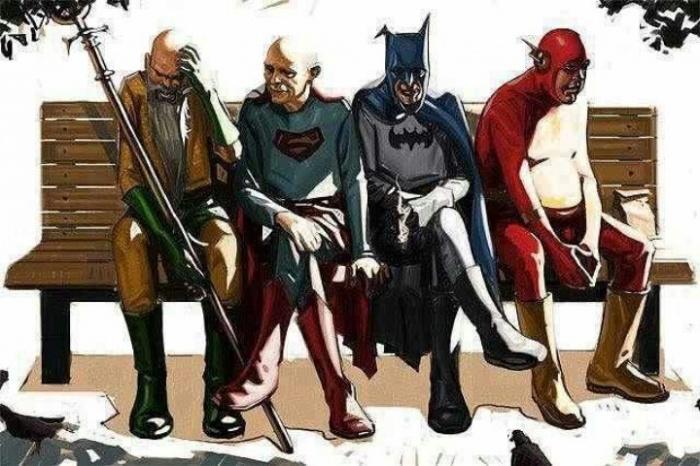 superheroes viejos