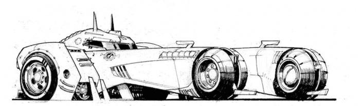 batman white knight batmobile 2