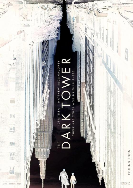 dark tower poster negative