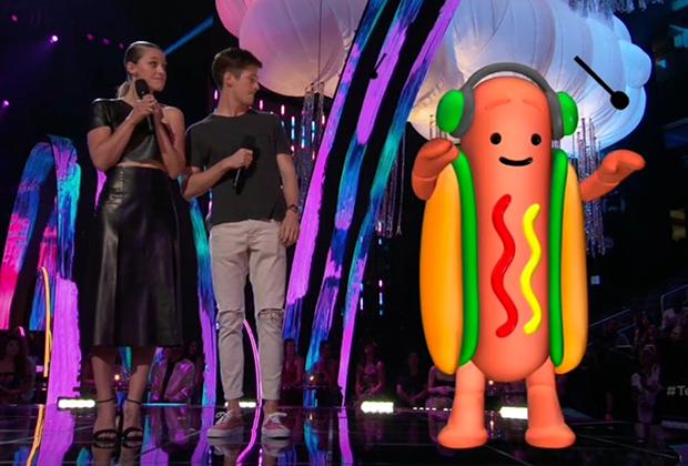 Teen Choice 2017 - Melissa Benoist y Grant Gustin