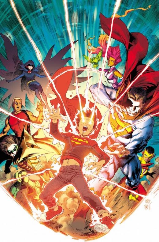 Anunciado un crossover entre Superman los Jóvenes Titanes y los Super Sons 1