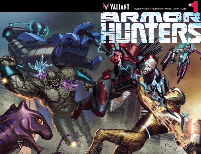 Armor Hunters Portada