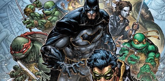 Batman-Teenage Mutant Ninja Turtles II 1