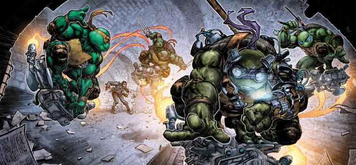 Batman-Teenage Mutant Ninja Turtles II 4