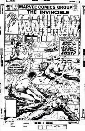 Bob Layton muestra material de Marvel Comics 1