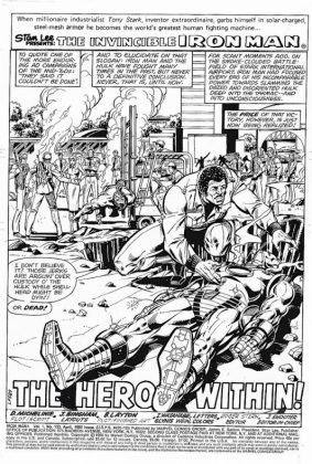Bob Layton muestra material de Marvel Comics 3