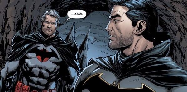 Bruce y Thomas Wayne