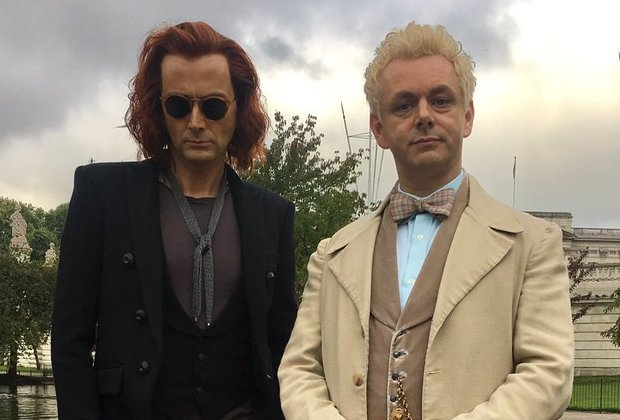 Buenos presagios - destacada David Tennant y Michael Sheen