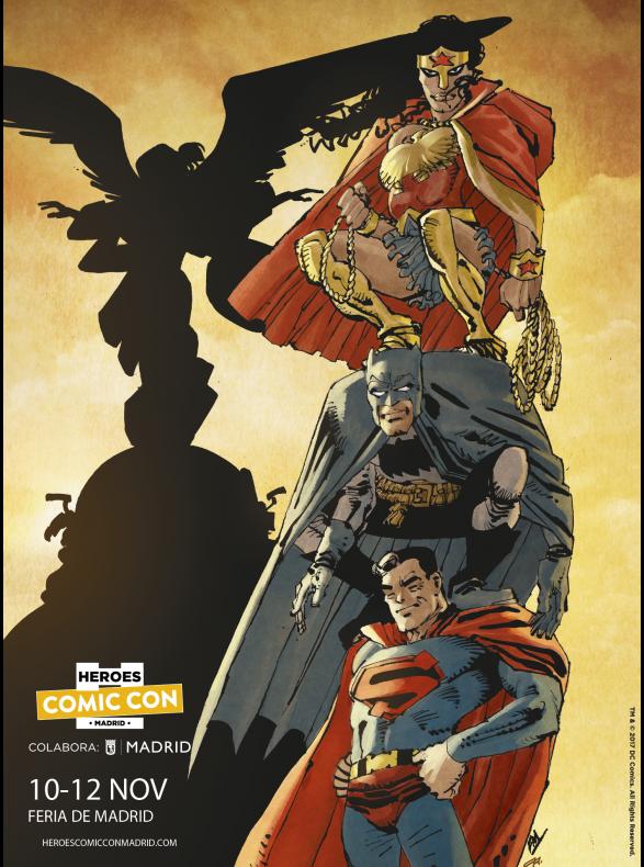 Cartel-Heroes-Comic-Con-Madrid Frank Miller