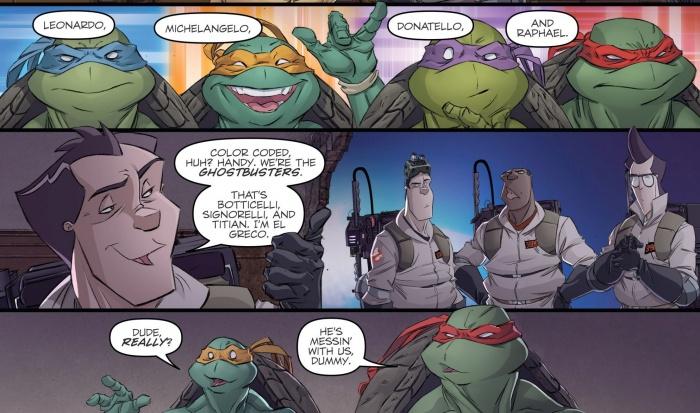 Cazafantasmas Tortugas Presentaciones