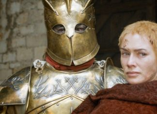 Cersei y La Montaña en 'Juego de Tronos'