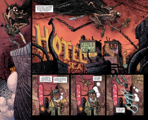 El artista español David Rubín será el dibujante del 2º volumen de Rumble 1