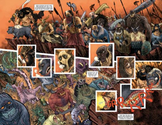 El artista español David Rubín será el dibujante del 2º volumen de Rumble 2