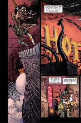 El artista español David Rubín será el dibujante del 2º volumen de Rumble 7