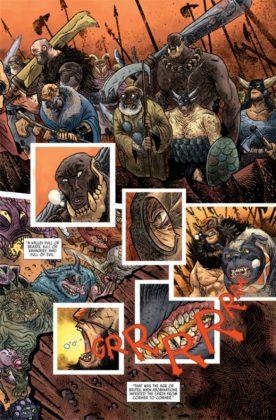 El artista español David Rubín será el dibujante del 2º volumen de Rumble 9