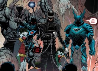 Evil Batmen Dark nights