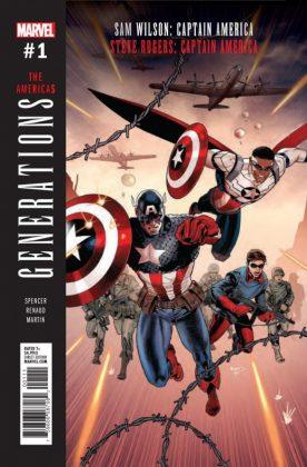 Generations Sam Wilson Captain America & Steve Rogers Captain America #1 (1)