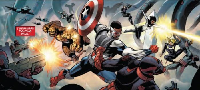Generations Sam Wilson Captain America & Steve Rogers Captain America #1 (3) 1