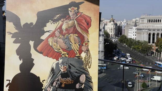 Heroes Comic Con Madrid presentación cartel