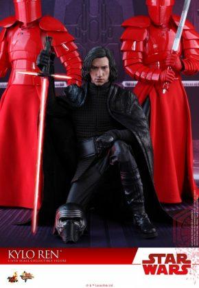 Hot Toys desvela la nueva figura de Kylo Ren de Star Wars Los últimos Jedi 10