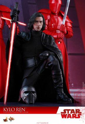 Hot Toys desvela la nueva figura de Kylo Ren de Star Wars Los últimos Jedi 12