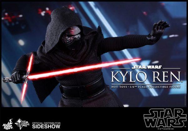 Hot Toys desvela la nueva figura de Kylo Ren de Star Wars Los últimos Jedi 3