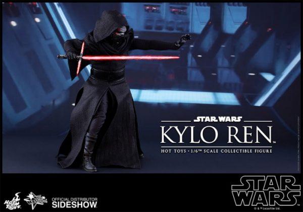 Hot Toys desvela la nueva figura de Kylo Ren de Star Wars Los últimos Jedi 4