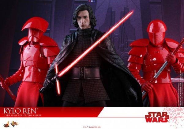 Hot Toys desvela la nueva figura de Kylo Ren de Star Wars Los últimos Jedi 5
