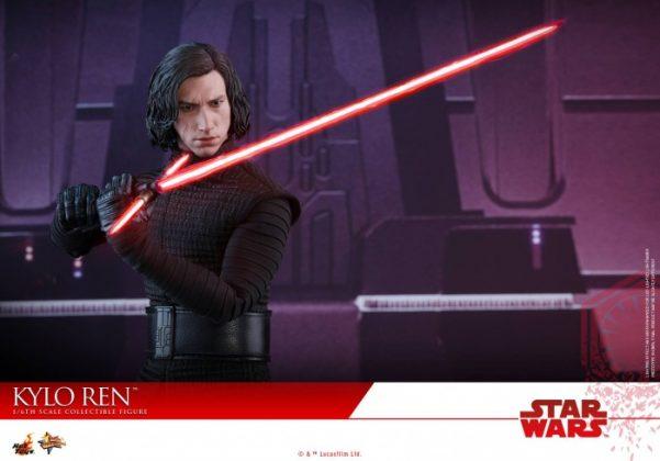 Hot Toys desvela la nueva figura de Kylo Ren de Star Wars Los últimos Jedi 6