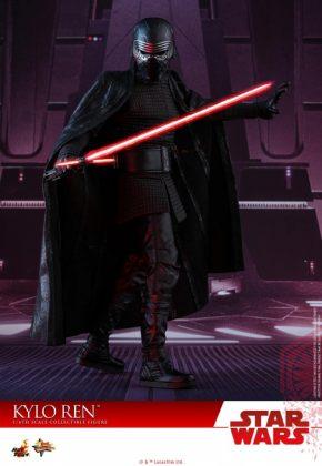 Hot Toys desvela la nueva figura de Kylo Ren de Star Wars Los últimos Jedi 7