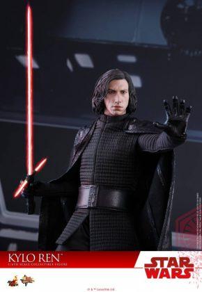 Hot Toys desvela la nueva figura de Kylo Ren de Star Wars Los últimos Jedi 9