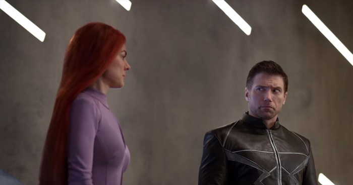 Inhumans - Black Bolt y Medusa