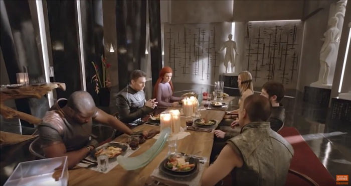 Inhumans - reunión familiar